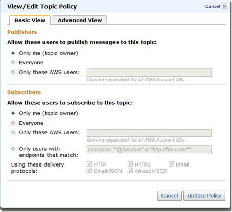 Using the New AWS Web Console Interface to Set Up Simple