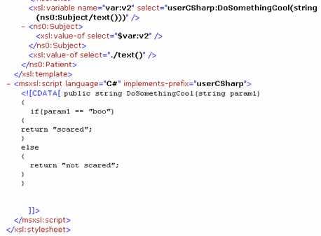 Behavior of BizTalk Map\'s Scripting Functoid – Richard Seroter\'s ...