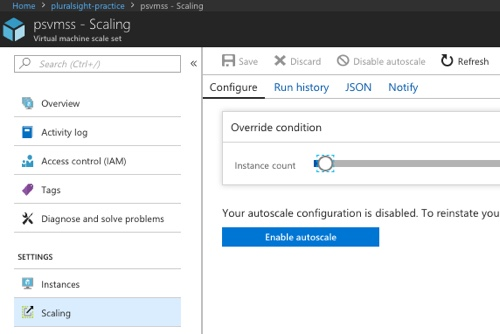 Creating an Azure VM Scale Set from a legacy, file-sharing