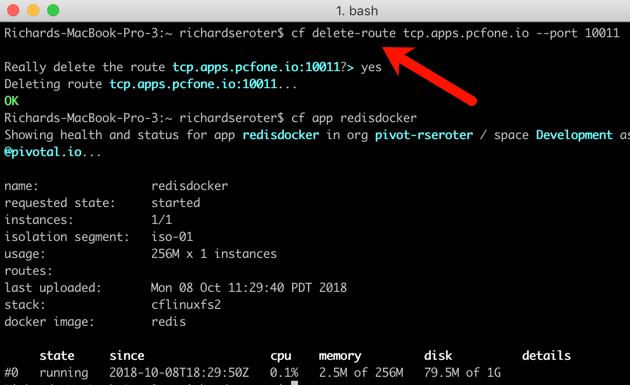 Wait, THAT runs on Pivotal Cloud Foundry? Part 2 – TCP-routable