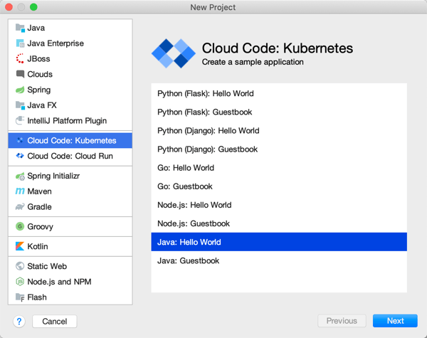 Google Cloud's support for Java is more comprehensive than I thought